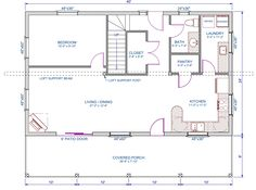 Floor Plans For 900 Sq Ft Single Level Homes Google Search