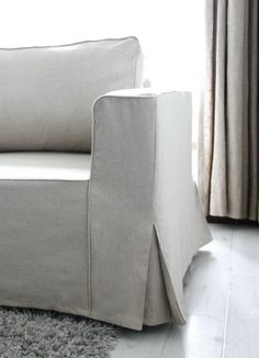 Home Decor Cozy Loose fit linen Manstad sofa slipcovers now available.Home Decor Cozy Loose fit linen Manstad sofa slipcovers now available Custom Slipcovers, Furniture Slipcovers, Furniture Upholstery, Clean Upholstery, Upholstery Tacks, Furniture Covers, Ikea Furniture, Sofa Design, Diy Design
