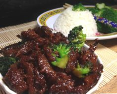 Ultra Easy Vegan (or not) Spicy Mongolian Beef with Broccoli