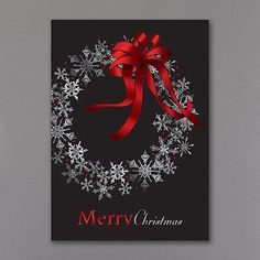 Snowflake Celebration Business Christmas Cards, Merry Christmas Card, Holiday Greeting Cards, Christmas Greetings, Christmas Holidays, Christmas Wreaths, Christmas Ideas, Christmas Hanukkah, Christmas Parties