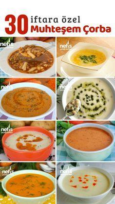 Healthy Soup Recipes, New Recipes, Good Food, Yummy Food, Iftar, Ramadan Recipes, Turkish Recipes, Pasta, Food To Make