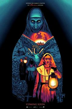 Come investigate the origin of the demon Valak and tells us the story of genesis of evil Best Movie Posters, Horror Movie Posters, Horror Films, Cool Posters, Halloween Film, Halloween Horror, Arte Horror, Horror Art, The Conjuring Annabelle