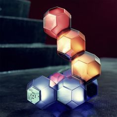 QisDesign Crystal LED Table Lamp
