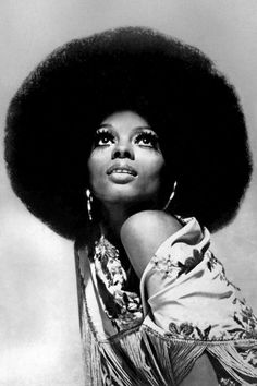 The supreme queen - Diana Ross' 1975 glamorous hairdo lands on our list of top 18 diva hairstyles.