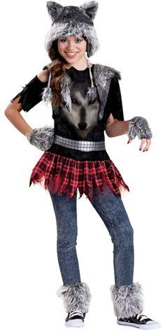 Girls Werewolf Costume - Party City