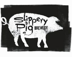 Sticker design by Mile 25's Randy Urquhart for Slippery Pig Brewery