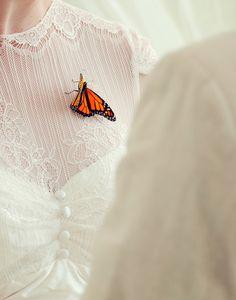 Madi & Santi's emotional butterfly wedding ceremony in Brisbane - Real Weddings Butterfly Wedding Dress, Butterfly Hair, Purple Wedding, Spring Wedding, Wedding Ceremony, Wedding Day, Wedding Things, Garden Wedding, Wedding Season