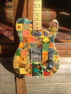 My favourite guitar, did the artwork 37 years ago.