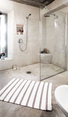 wishful thinking for a bathroom like this with a large window