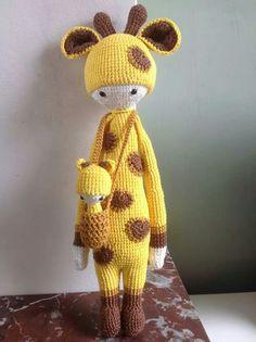 Amigurumi Lalylala giraffe