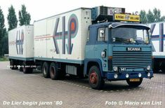 Scania LBS 141. KOELTRANSPORT. COMBINATIE