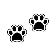 Paar Hund / Welpe Paw Prints – Di Cut Decal – Startseite / Telefon / Computer / Laptop / Auto Aufkleber Aufkleber – Mary Beth Smith – join in the world of pin Panda Party, Cat Party, Paw Patrol Party, Paw Patrol Birthday, Cumple Paw Patrol, Dog Paws, Puppy Paw, Bear Paws, Car Bumper Stickers