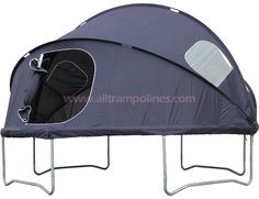 Trampoline Tent!! Best backyard camping ever! This would be sooo fun 8+)