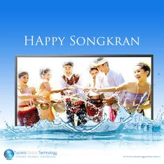 Happy #Songkran to Everyone in #Thailand.
