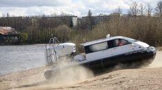 Recreational Personal Hovercraft Christy 5143 FC /Амфибийное судно на во...