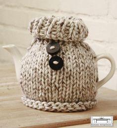 knitted teapot/gebreide theepot