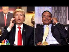 Donald Trump & Ben Carson Watch Democratic Debate - YouTube
