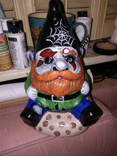 Target Dollar Spot  Hand painted Painted Garden gnome