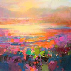 Abstraction of the Scottish landscape [Scott Naismith].