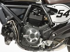 Ducati Scrambler Cafe Racer.  They have listened to what riders want and took their popular scrambler platform and introduced a cafe racer version.