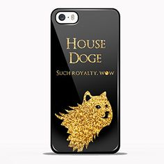 House Doge, Game of Thrones Design GNO for iPhone 5/5s Black case