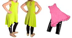 In a neon wilderness! Neon Tunic Tank Tops - FREE SHIPPING ON ALL ORDERS!