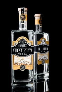 Trail Distilling on Packaging of the World - Creative Package Design Gallery