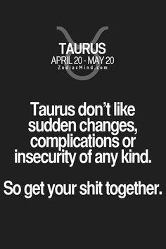Taurus And Aquarius, Taurus Bull, Taurus Traits, Astrology Taurus, Zodiac Signs Taurus, Taurus Man, Taurus And Gemini, Zodiac Mind, Zodiac Facts