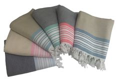 The Elma Pestemal is extremely soft and absorbent with a double-sided weaving technique: flatwoven and handloomed. This pestemal comes in a range of vibrant colors with distinct patterns that are designed with elegance. This towel is so plush which makes for perfect bath use, as a cover-up, and/or blanket.