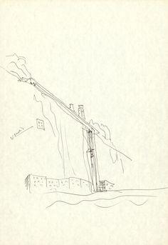 drawing I architect I dessin d'architecte I Álvaro Siza I collection La Galerie d'Architecture