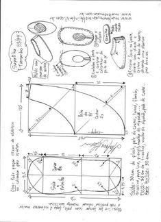 Выкройка мягких домашних балеток. Размеры 33-44 (Шитье и крой) | Журнал Вдохновение Рукодельницы