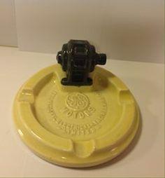 Vintage TEMUKA Pottery GE Motors Ashtray
