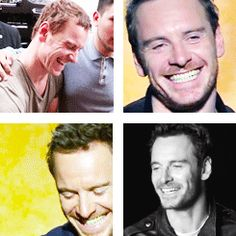 Instant sunshine..I give you the smile of Michael Fassbender