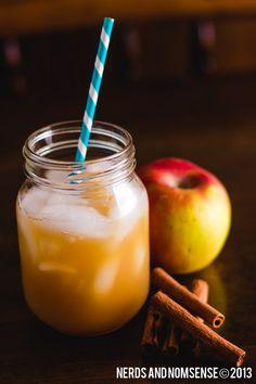 Apple Pie Cocktail 1 oz of Kraken Spiced Rum ½ oz of Apple Schnapps 1 oz of Cinnamon Schnapps 1 oz of Crown Royal Maple ¾c of Apple Cider