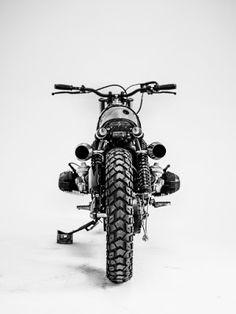 biker excalibur II: Project #32 - BMW R100 by HERENCIA CUSTOM GARAGE