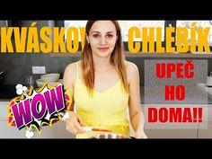 (2) Domáci kváskový chlieb - upeč ho doma! - YouTube Bread, Youtube, Baguette, Breads, Sandwich Loaf, Youtube Movies