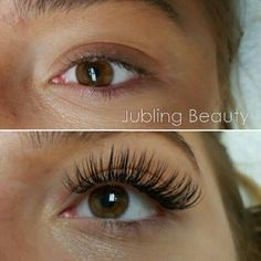 Lash extension before and after in Calgary☺
