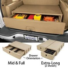 SUV Cargo Organizer....I wish I would have known about these when I had my SUV!