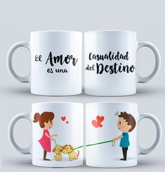Templetes for Mugs COUPLES for SUBLIMATION - Diseños para Parejas - Plantillas Tazas de parejas - Diseños sublimación Parejas - Sublimar #mottaplantillas Cute Mugs, Funny Mugs, Sublimation Mugs, Personalized Wine Glasses, Gifts In A Mug, Gift Mugs, Mug Designs, Couple Gifts, Temple