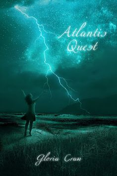 Girl with a Pen and a Dream: Cover Reveal ~ Atlantis Quest by Gloria Craw