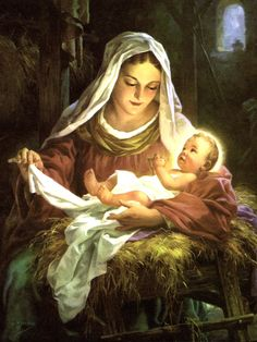 George Hinke (1883-1958) — Madonna and Child (1153×1536)