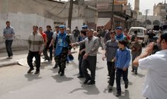 UN to send 300 observers to Syria