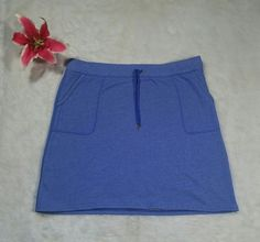 LL Bean Skirt Size XL Purple Cotton Blend Comfortable  | Clothing, Shoes & Accessories, Women's Clothing, Skirts | eBay!