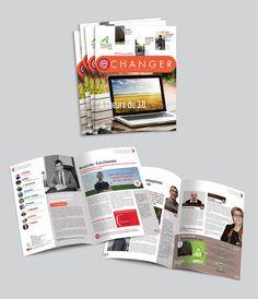 Nouveau magazine de la Chambre d'Agriculture de la Somme Design Graphique, Magazine, Advertising Agency, Magazines, Warehouse, Newspaper
