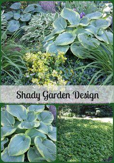 Shady Garden Design Ideas