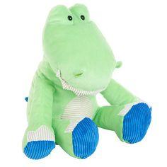 "Babies R Us Plush 16 inch Bright Sitting Jungle Alligator - Green - Babies R Us - Toys ""R"" Us"