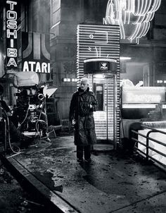 the scene in Bladerunner that so many other movies seem to copy.