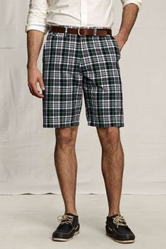 Men's Madras Shorts