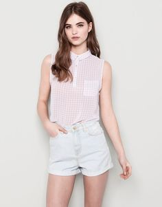 BLOUSES AND SHIRTS - WOMAN - Pull&Bear United Kingdom