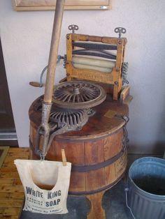 antique washing machine | Antique / Vintage Laundry Items shared ...